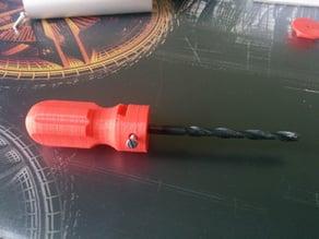 2 Part drill bit Handle