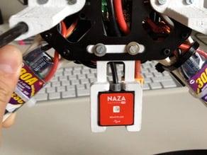 DJI Naza Remote LED mounting clip for SK450 Quadrocopter