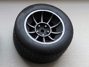 1/10 RC General Lee Vector Style Wheels
