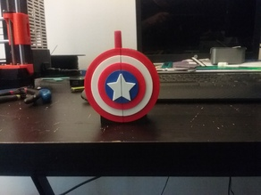 Captain America Book Ends