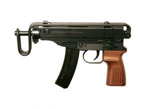 CZ Scorpion Machine Gun Model