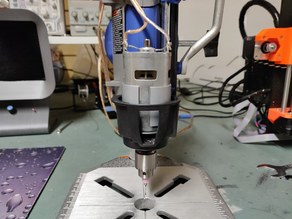 775 Motor Mount For Dremel Workstation (Drill press)