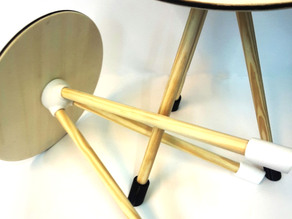 """""""invader"""" stool"""