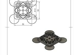 Gantry for mini v wheels
