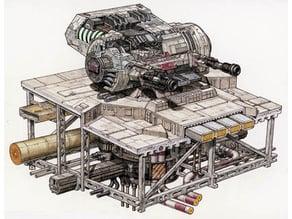 Republic Turbolaser Turret
