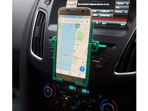 Car CD Slot Phone Holder - Vertical - Galaxy S7 Edge