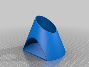 Conic Curves pencil Holder