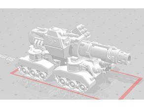 Space dwarf mega tank