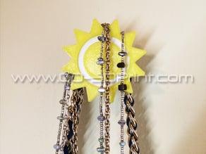 Coat / Jewelry Hanger Organizer Weather Wall Hook – Sun