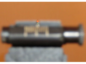 Compact Fixed Front Sight for Picattiny very strong with fiber light