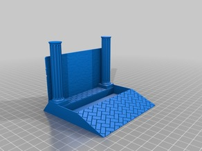 Business Card Holder with Dungeon Theme