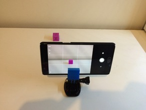 Phone Holder with GoPro mount