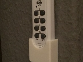 Lighting Remote Holder