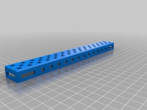 VEX Chassis Rail - 16 Hole