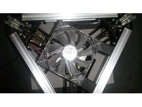 120mm Fan Brackets for Kossel Mini