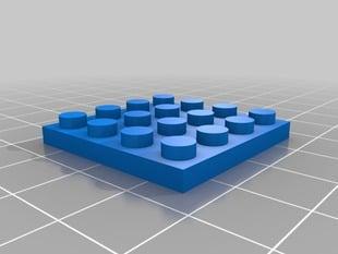 4 x 4 Lego