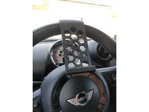 Small Steering Wheel Phone Stand