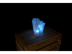 Magic Glowing Crystal