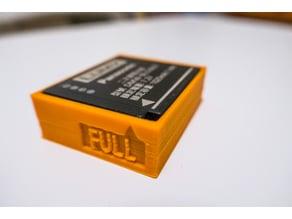 Camera battery DMW-BLG10 holder