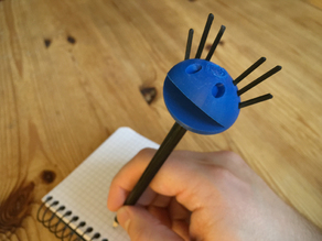 Pouic Pencil Topper (incl. Tutorial)