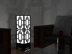 Lamp wall corner
