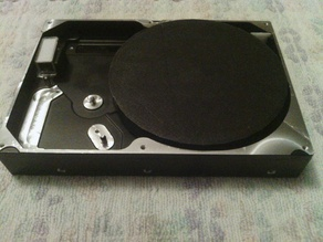 Hard Disk Turntable for 3D scanning (non-motorized)