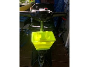 Mini Pride Mobility Scooter Basket