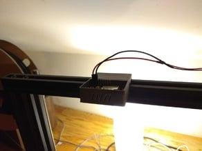ESP32 CAM holder on a 20 20 gantry