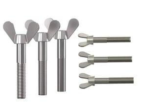 DIN 316 - 50+ standard parts collection (parametric-configurator)