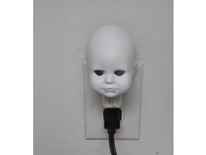 Doll Head Night Light