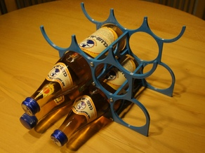 Flaschenhalter / Bottle-rack