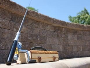 Mini Tackle Box for Pen Fishing Rods