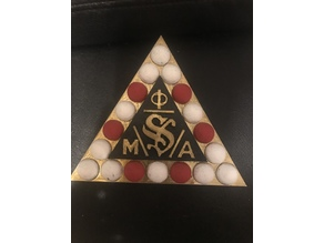 Phi Mu Alpha pin