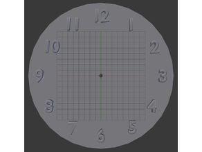 Generic clock face