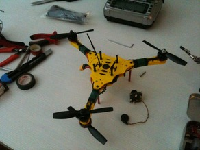Quadcopter and Hexacopter in Y4 or Y6 configuration
