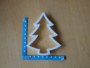 Christmas tree cookie cutter. Really nice as a decoration as well.