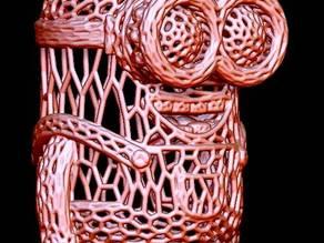 Minion in stile Voronoi.
