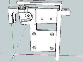 3mm version of UP! printer filament feeder