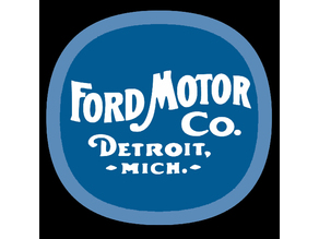 Basic 1903 Ford sign
