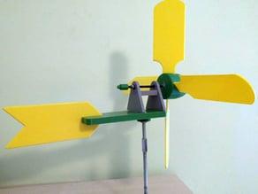 Haize orratza - Veleta - Windmill