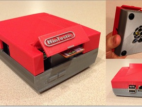 NinTastic - Nintendo Style Case for the Raspberry Pi