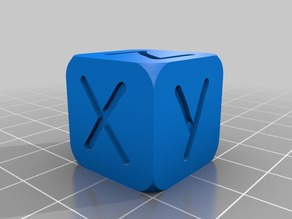 xyz particular calibration cube