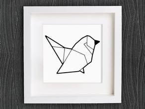 Customizable Origami Bird