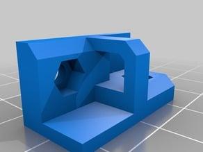 corner-mount-with-cabletroughput 3d-plexi-printer