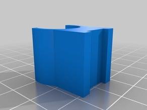 Marker holder with magnet