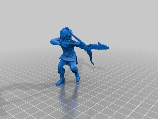 BOTW Amiibo Link - Breath of the Wild by Foots105 - Thingiverse