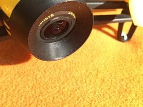 Bebop camera lens conical hood
