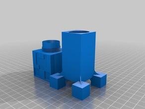 MineCraft Creeper Salt Shaker