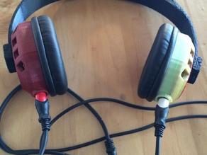 Duli - Dual Stereo Over-Ear Headphones