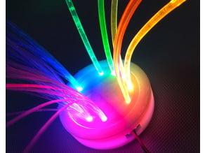 Circuit Playground Fiber Optics Enclosure